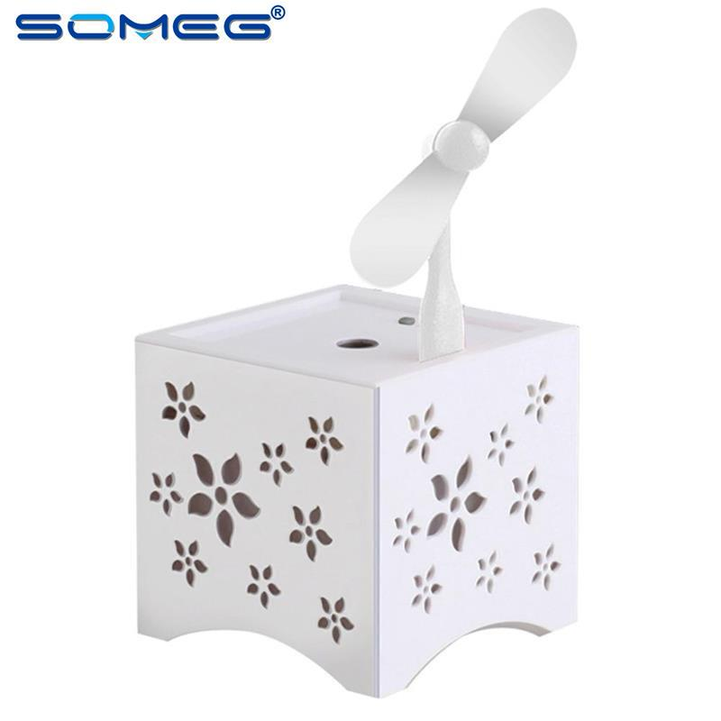 wholesale Electric Air Mist Maker Fogger Spa Colorful Night Light USB Humidifier Home Air Refreshing Humidifying