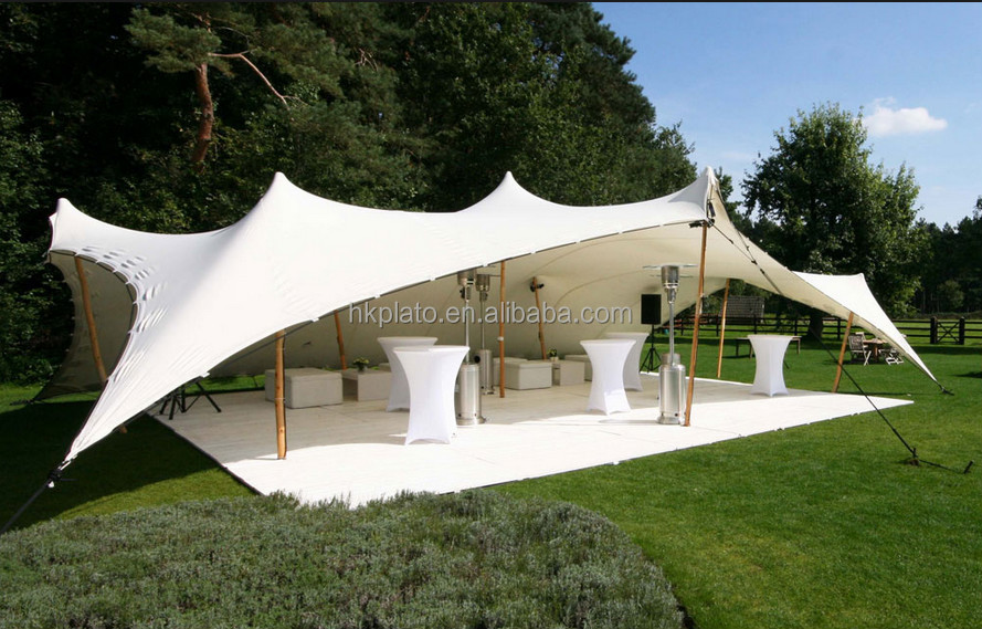 Outdoor Large Stretch Tent Beautiful Party Tent Easy Set Up Tent For Events Buy Easy Set Up