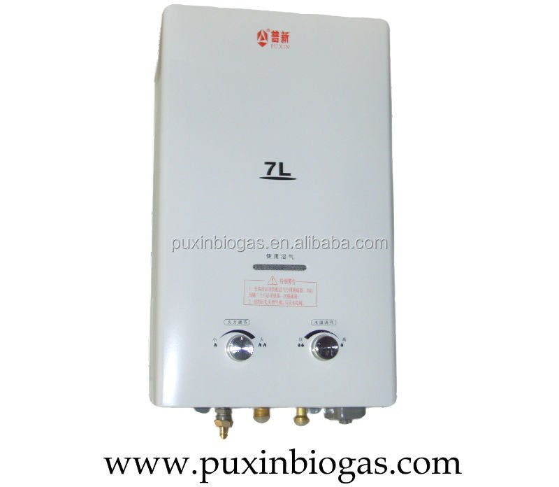 Chinese Family Biogas Water Heater