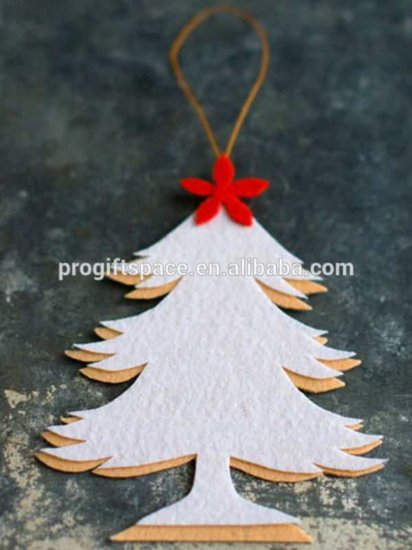 Expensive Christmas Ornaments.Hot New Products Alibaba China Fabric Bulk Native Felt Diy White Pine Tree Hanging Best Selling Expensive Christmas Ornaments Buy Expensive