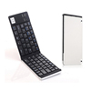Black & White folding mini wireless bluetooth keyboard keypads keyboards aluminum bluetooth keyboard for android iPad iPhone