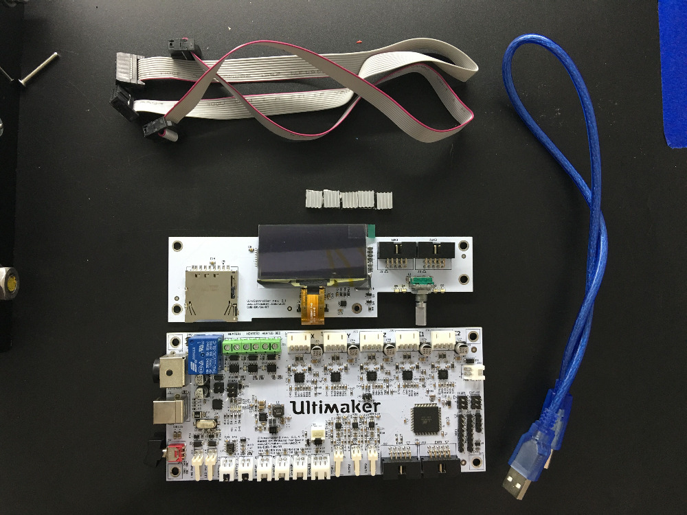 3D Printer Accessories Ultimaker v2.1.4 Control Board Ultimaker 2 motherboard + Ultimaker v2.1.1 LCD control board