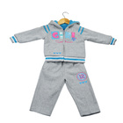 New design winter reversible children clothing kid suit