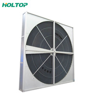 Air to air heat recovery wheel rotary heat exchanger