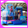 Hot sale inflatable frozen princess bouncy castle,land cartoon jumping bouncer inflatable for kids