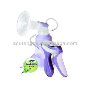 hot sale BPA FREE Rumble Tuff Manual breast pumps for suck out the breast milk