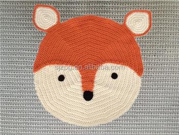 Factory Crochet Animal Shaped Rugs, Kids Cartoon Rugs