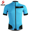 ARSUXEO 2017 Cycling Jersey MTB Bike Bicycle Motocross Downhill Sport Basketball Running Shirt Men Clothing Maillot