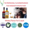 Factory direct sale and High concentration of Whsikey flavor used in e liquid