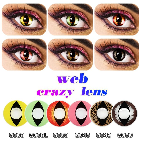 Hotest 3 Tones Natural Color Contact Lenses Colour Look Beauty ...
