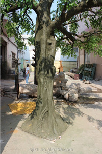 Customized high imitate outdoor large ficus microcarpa tree trunk for landscape project restraunt banyan artificial ficus tree