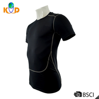 OEM wholesale Quick Dry Muscle short sleeve fashion men t-shirt manufacture