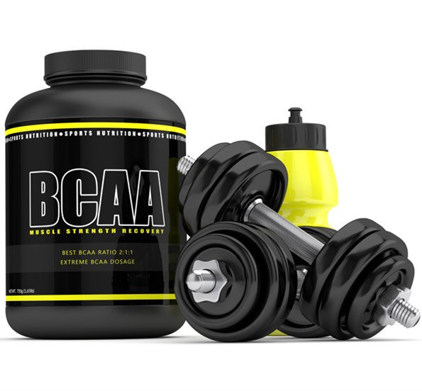 OEM Sport Nutrition Supplement Instant Water Soluble BCAA Powder 2:1:1