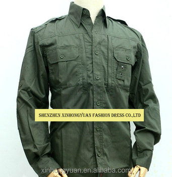 c493cbd2d71 Olive Green Military Army Quick Drying Men Shirts - Buy Military Quick ...