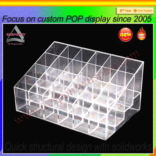 Plastic mold injected Playing acrylic Display