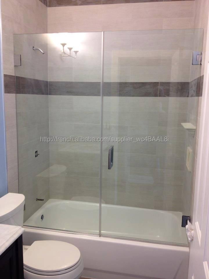 nettoyage salle de bains de douche coulissante portes / sans cadre ...