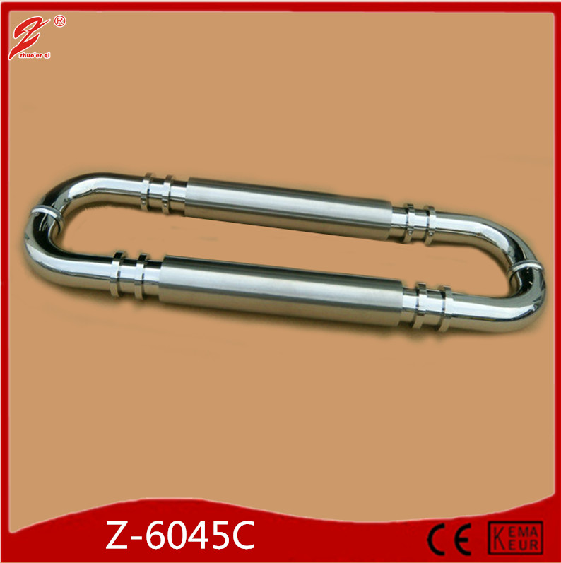 Zhuoerqi Hot sale back to back stainless steel square cabinet door handles