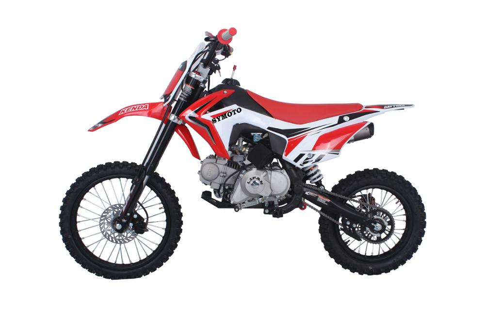 pit bike 125cc electric start 14/17 pitbike cross bike dirt bike Gas/Diesel Fuel and 4-Stroke Engine