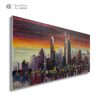 Wholesale craft supplies boxy building canvas painting birthday gifts for husband