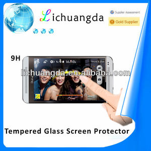 Tempershield Glass Screen Protector for Mobile Phone 9H Tempered Glass Screen Protector for HTC One M7