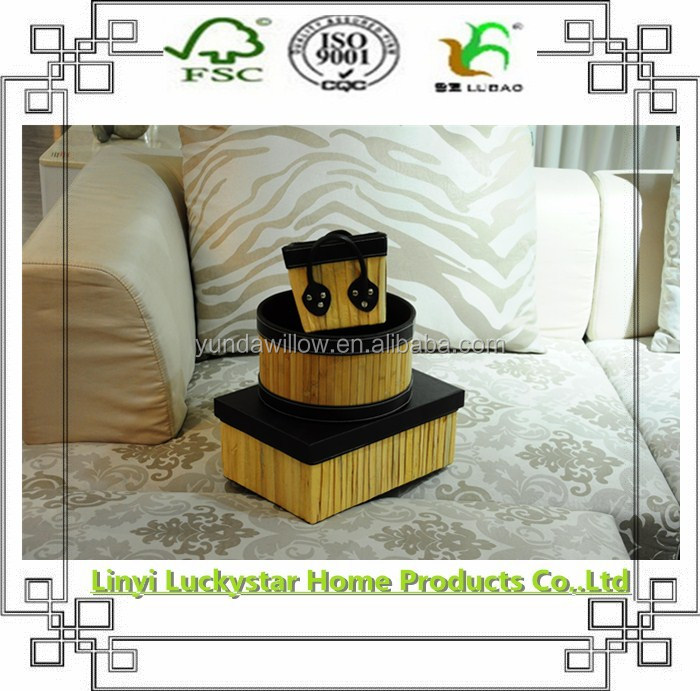 handicraft miniature basket for household