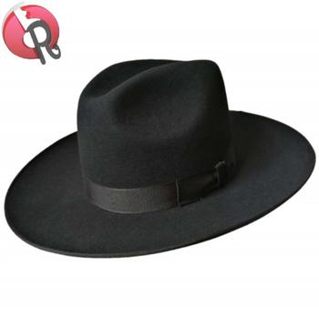 e36e64a4 Fur Felt Black Hat Jewish Man Hat European Men Hat - Buy Black Hat ...