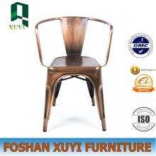 Wholesale iron theater use industrial vintage metal chair