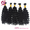 8A brazilian bulk hair extensions without weft human hair bulk 100% loose human hair bulk extension