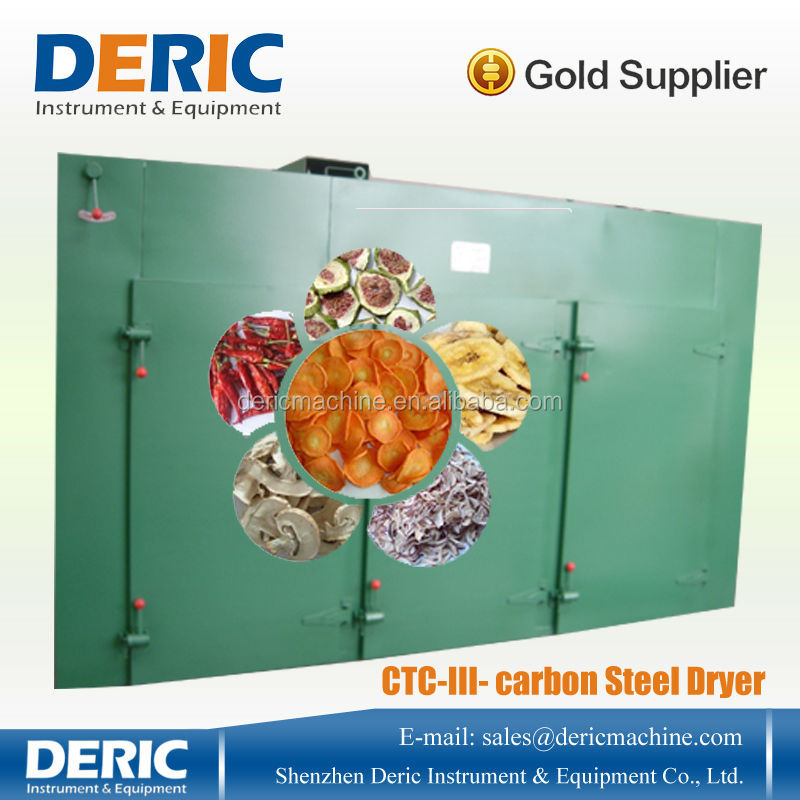 Commercial Food Dehydrators for sale 50--500kg/batch with Gas/ Diesel