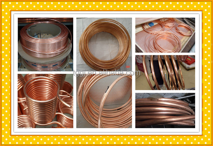 Small Copper Tubing Sizes: Pancake Coil Refrigeration Copper Tube