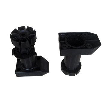 Adjustable Plastic Furniture Leveler Cabinet Feet