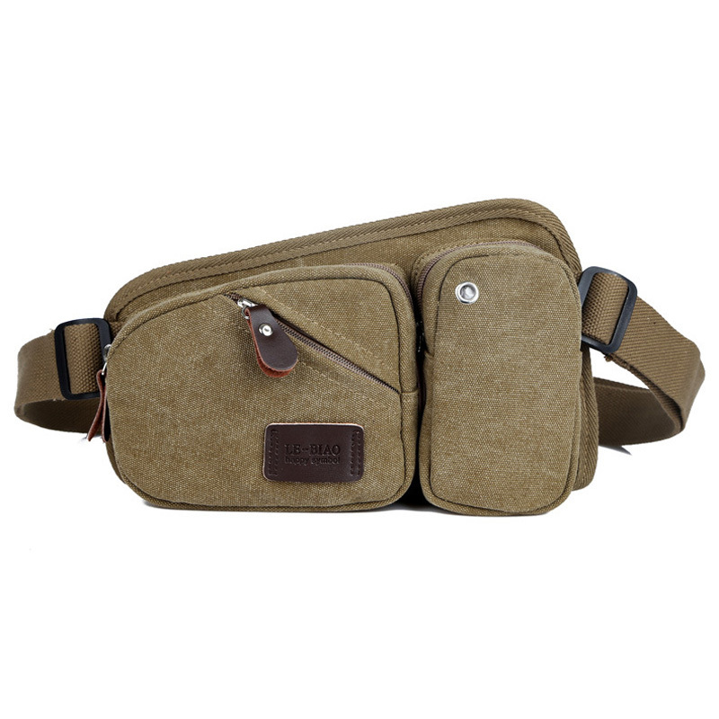 b7a6c4442b42 Unisex Messenger Bags Outdoor Sport Chest Pack Bag Cross Body Sling Single  Canvas Tote Bag Casual