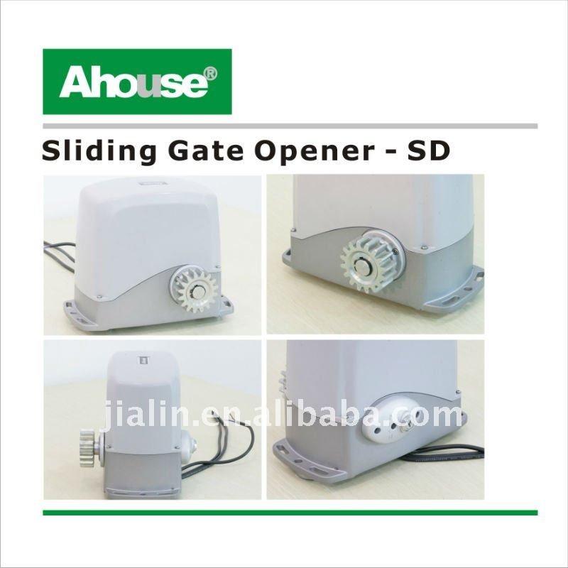DC motors for sliding gate/ 600kg Auto solar Sliding Gate Openers CE/IP57