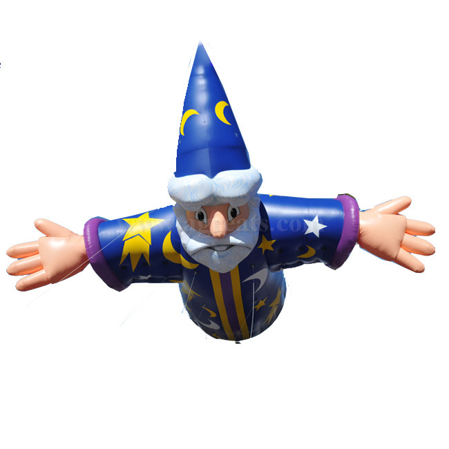 Wizard flying helium balloons cartoon helium balloon on sale S3031
