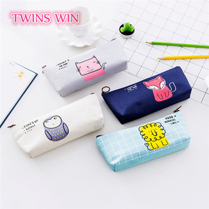 Moldova popular schools & offices use and yes novelty multifunctional fabric pencil bag pen box pencil case custom logo