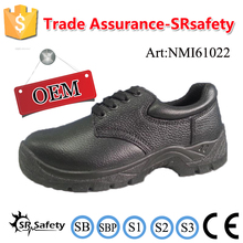 SRSAFETY 2016 safety shoes leather safety dangerous space working used shoes