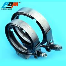 1.5 to 6 inch Stainless Steel V Band Clamp With Flanges