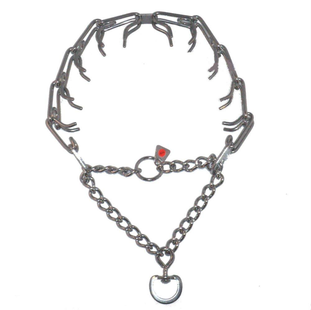 """HERM SPRENGER ORIGINAL PINCH COLLAR!!! - STAINLESS STEEL - THIS COLLAR IS 23"""" BY 3.25MM - INCLUDES 10 LINKS - ADJUSTABLE - WILL NEVER RUST!!! THIS PRODUCT HAS A LIFE TIME WARRANTY!!!"""