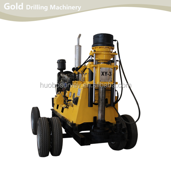 Hydraulic Control Diesel Engine Driving Rotating Large Diameter Water Well Drilling Rig
