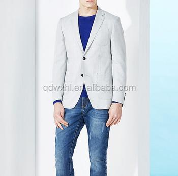 3f6c74e991 Primavera Outono New Men   s Blazer Slim Fit Ternos Blazers Para Homens  Moda Estilo