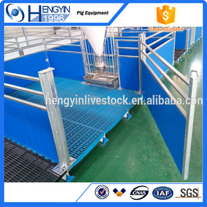 China manufacturer Well sell pig crate galvanized piggery farming equipment