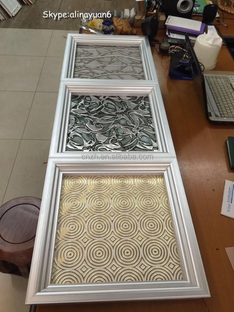 Top di copertura del soffitto pannelli decorativi 3d con luci led altro arredamento per la casa - Pannelli decorativi 3d ...