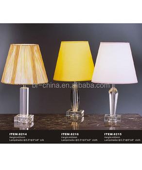 Mini Crystal Table Lamp Crystal Base Crystal Vintage Table Lamp