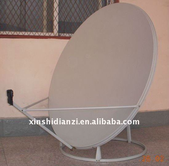 Ku-90cm satellite antenna dish