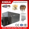 Easy Operation Industrial Seafood Dehydrator/Commercial seaweed drying machine/KINKAI heat pump dryer