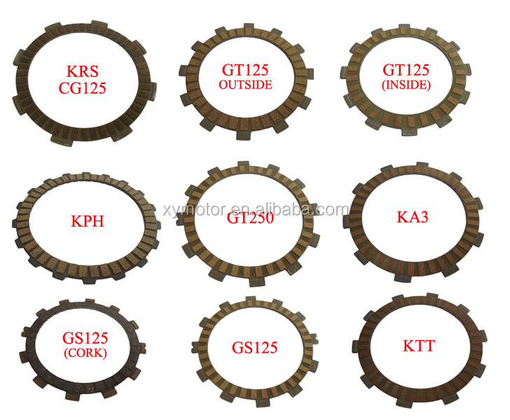 motorcycle clutch kits clutch plate and pressure plate for honda
