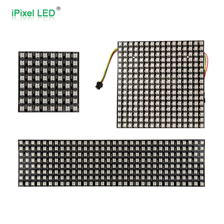 Arduino ws2812b 256pixels 5050 rgb digital led matrix display