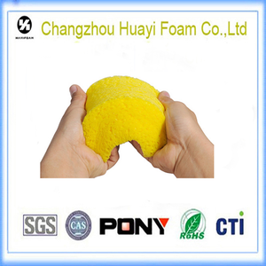 custom Non-toxic car cleaning sponge foam