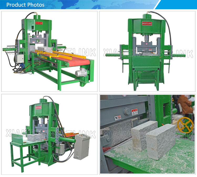 2020 Bestlink Factory Price Stone Splitting Machine / stone cutting guillotine