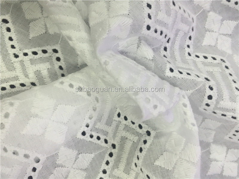 100% cotton 60*60/90*88 cotton embroidery fabric